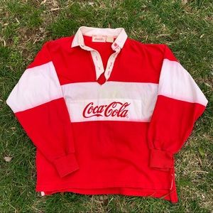 Vintage Coca-Cola Long-Sleeve Top